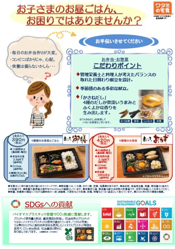 ID学園のお弁当紹介