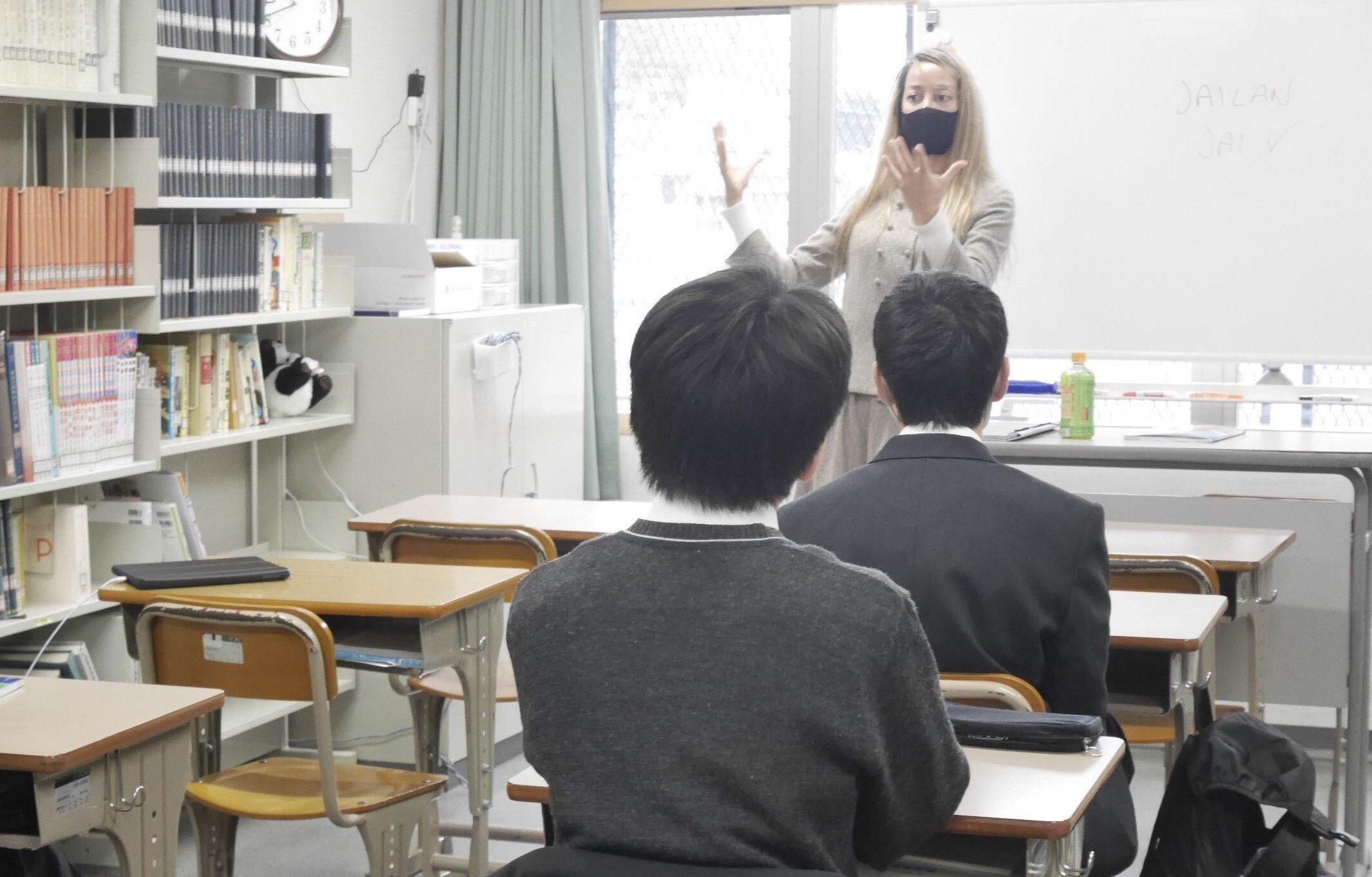 ネイティブスピーカー ジェイ先生登場!